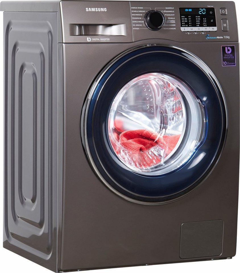 samsung waschmaschine ww5000 ww70j5435fx eg a 7 kg 1400 u min online kaufen otto. Black Bedroom Furniture Sets. Home Design Ideas