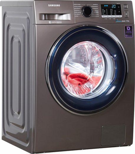 Samsung Waschmaschine WW5000 WW70J5435FX/EG, 7 kg, 1400 U/Min, SchaumAktiv- Technologie
