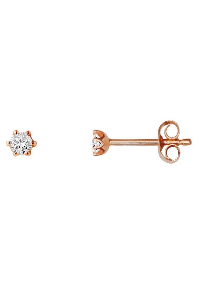 Stardiamant Paar Ohrstecker »Royal Krappe, D809/R« mit Brillanten