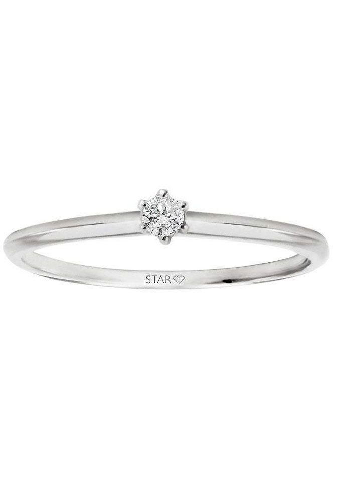 Stardiamant Diamantring »Royal Krappe, D819/W« mit Brillant | Schmuck > Ringe > Diamantringe | Si | Stardiamant
