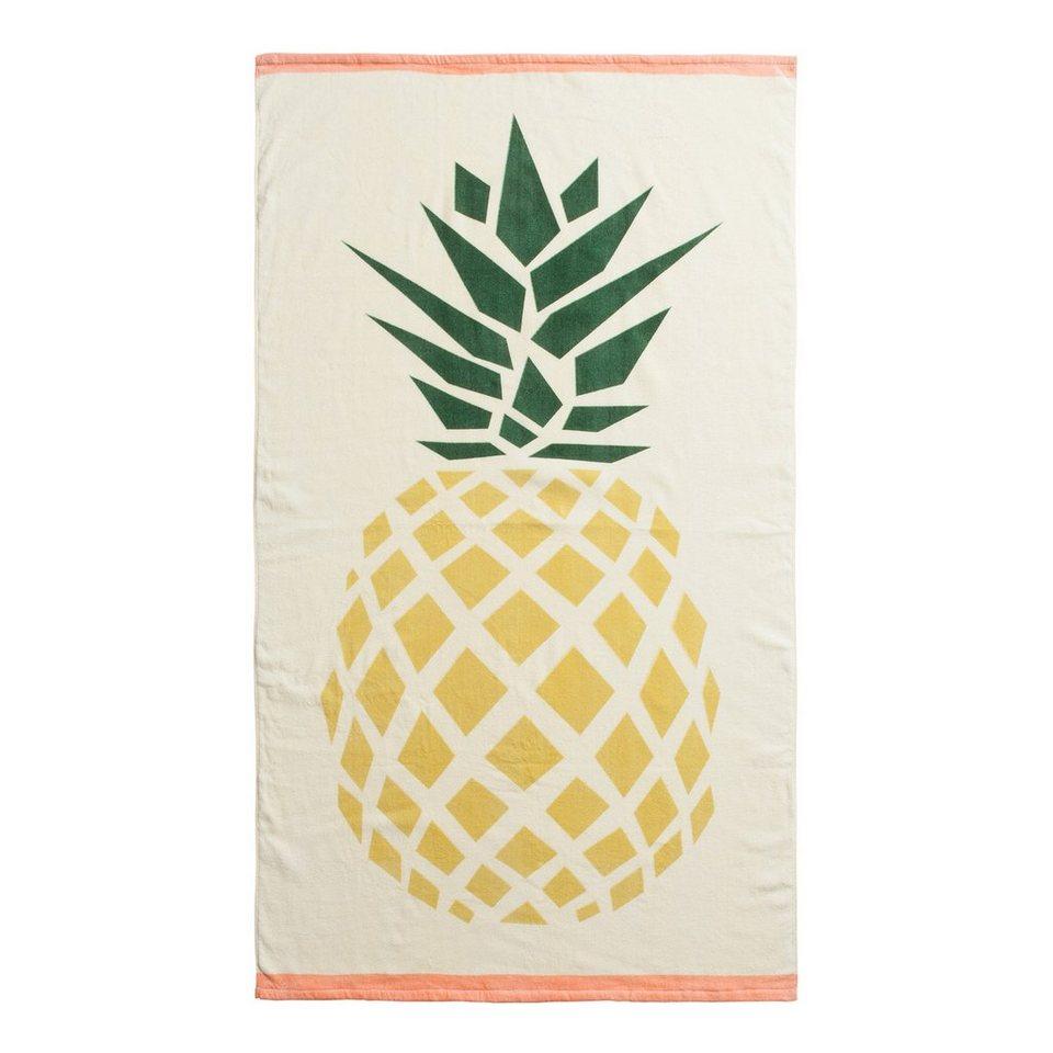 codello strandtuch mit ananas motiv online kaufen otto. Black Bedroom Furniture Sets. Home Design Ideas