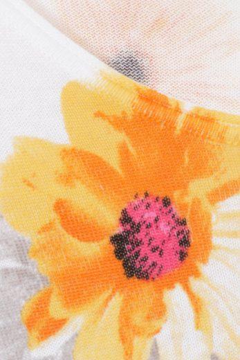 passport Print-Pullover aus reiner Baumwolle