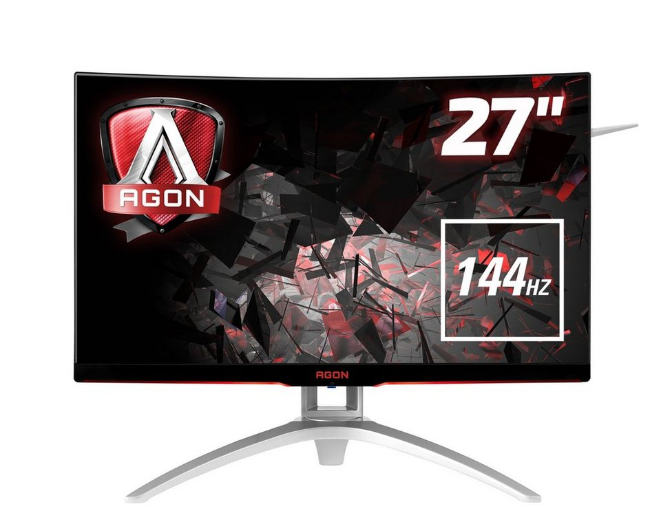 aoc gaming monitor curved full hd ag272fcx 68 6cm 27. Black Bedroom Furniture Sets. Home Design Ideas