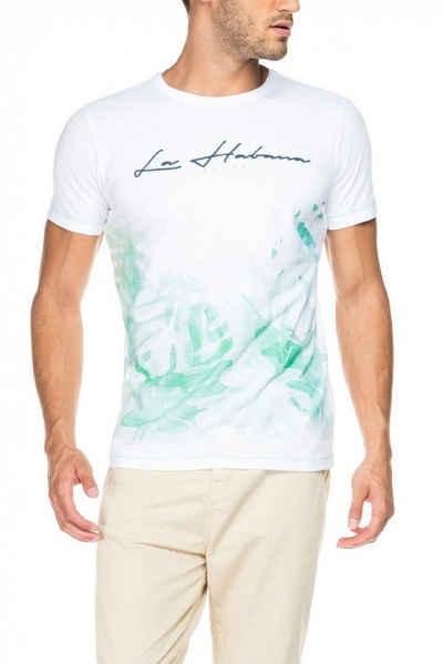 salsa jeans T-Shirt, kurzarm »PALM BEACH« Sale Angebote Griesen
