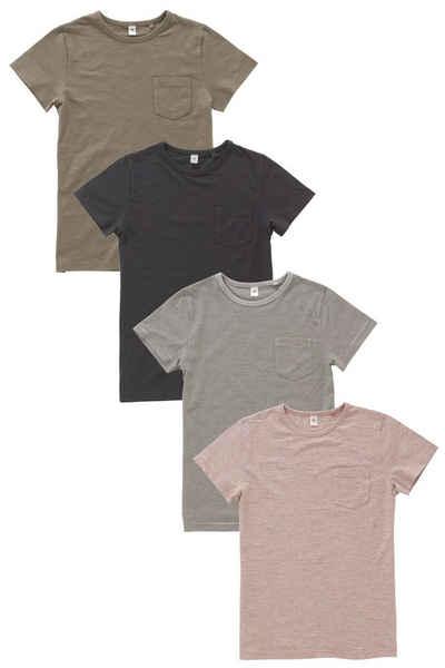 Next T-Shirts, verschiedene Farben, 4er-Pack 4 teilig Sale Angebote Schipkau