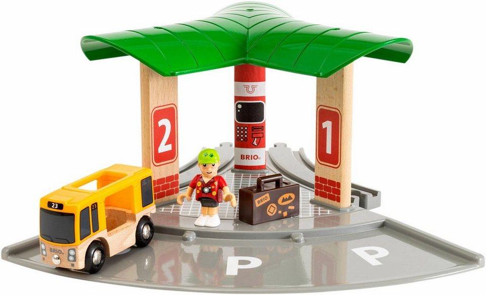 Brio Spielset Bus Und Zugbahnhof Online Kaufen Otto