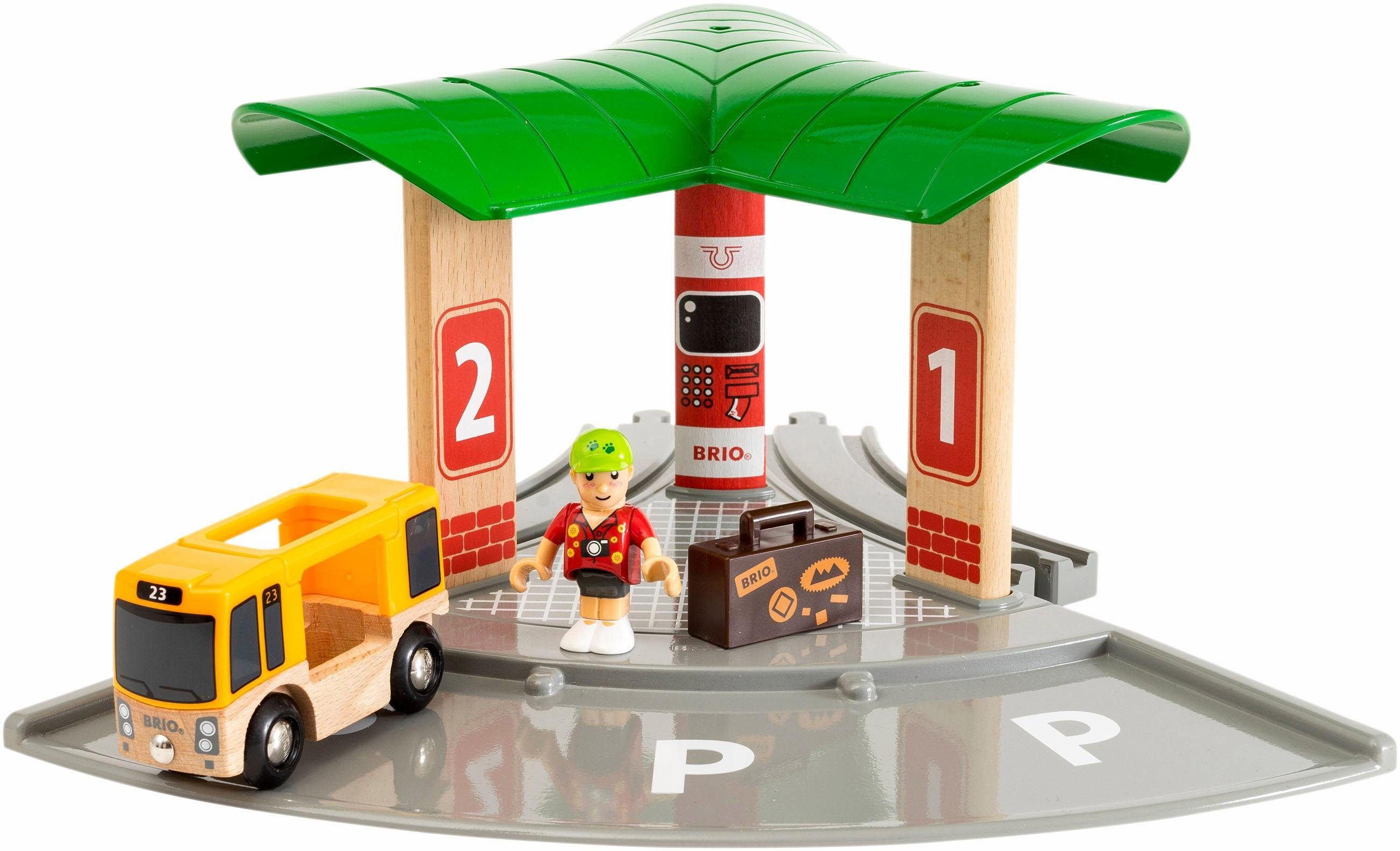 BRIO® Spielset, »Bus und Zugbahnhof«