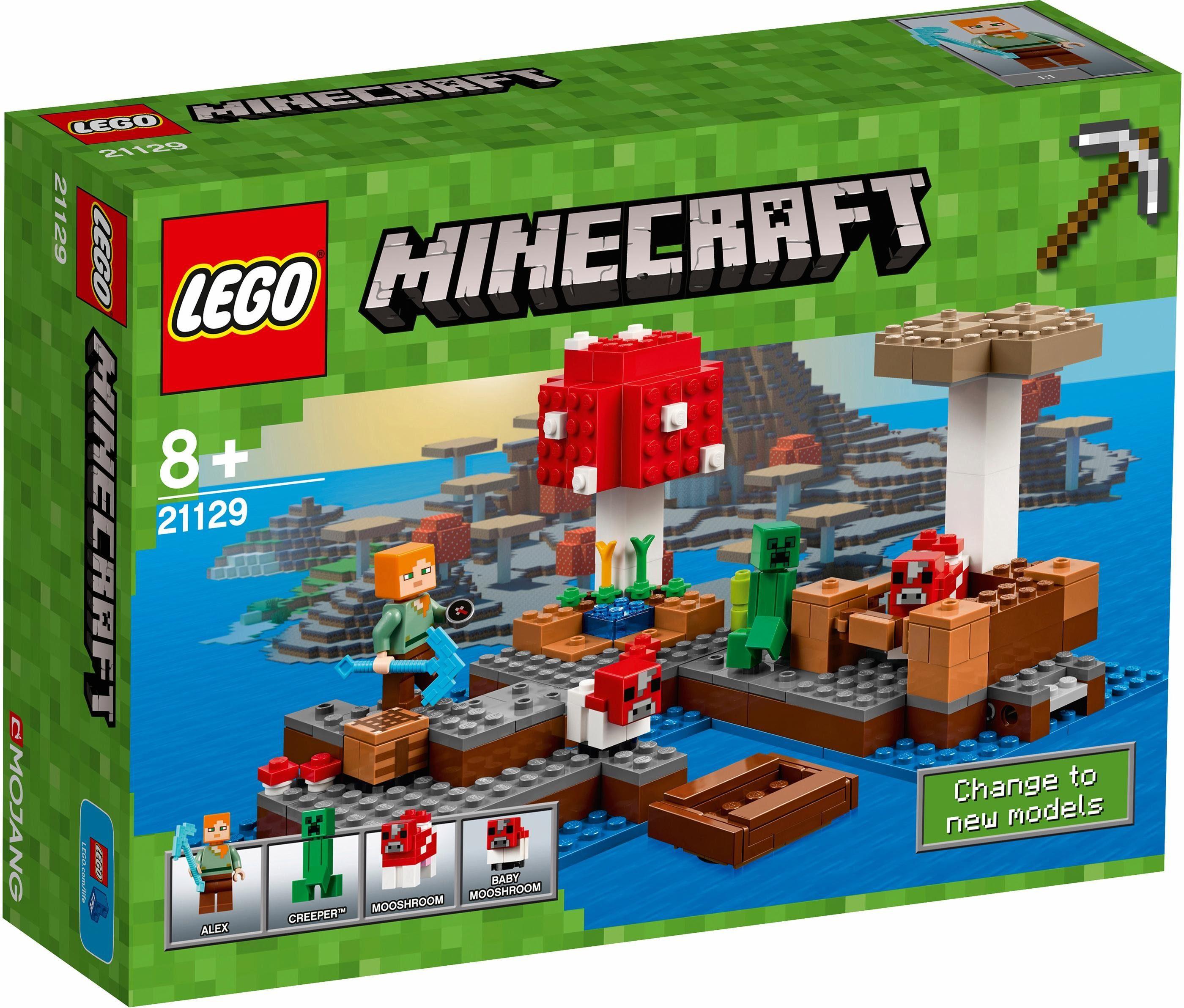 LEGO® Die Pilzinsel (21129), »LEGO® Minecraft™«
