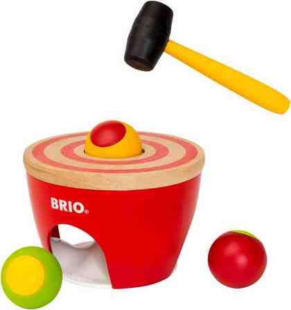 BRIO® Klopfspielzeug, »Kugel Hammerspiel«