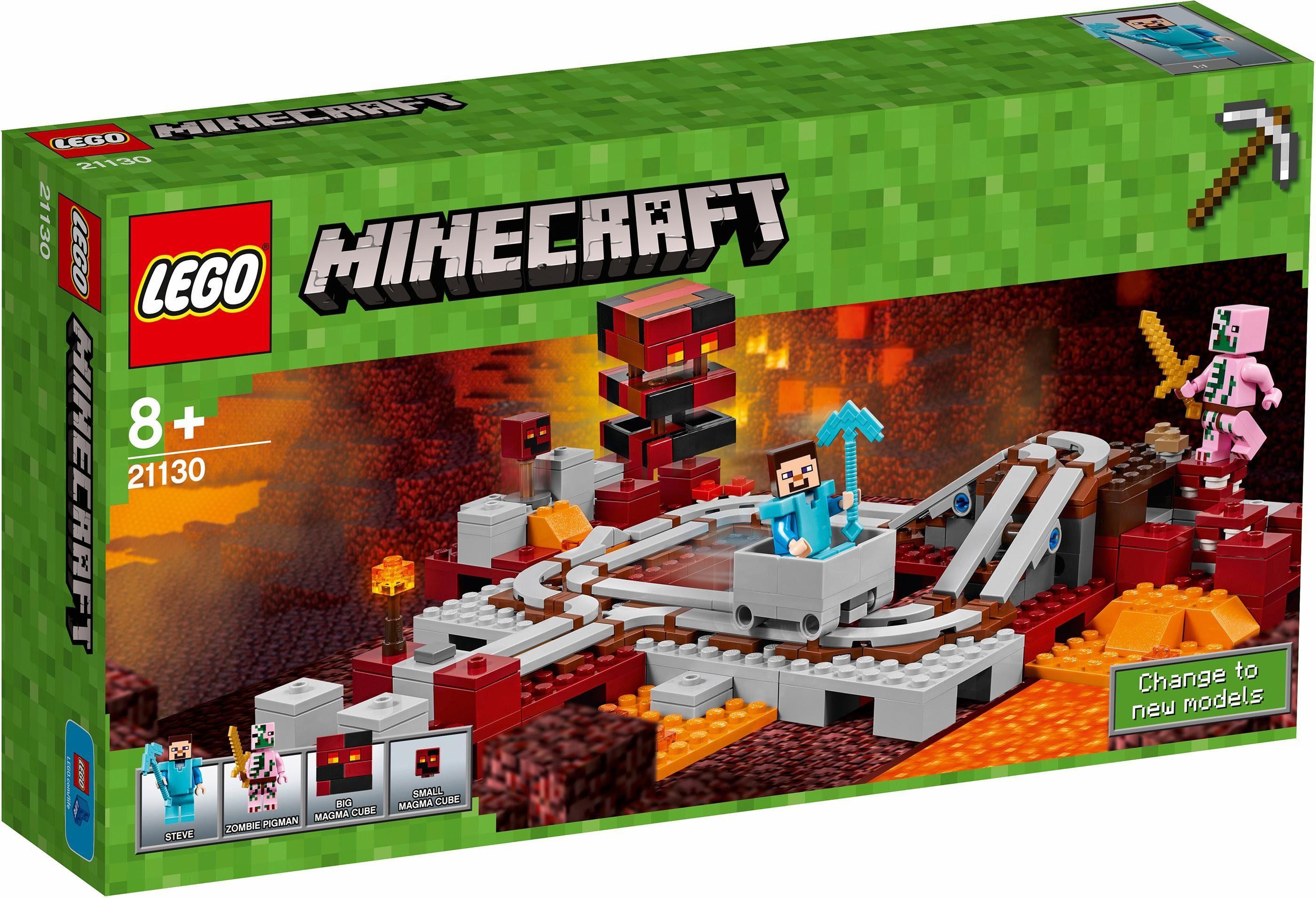 LEGO® Die Nether-Eisenbahn (21130), »LEGO® Minecraft™«