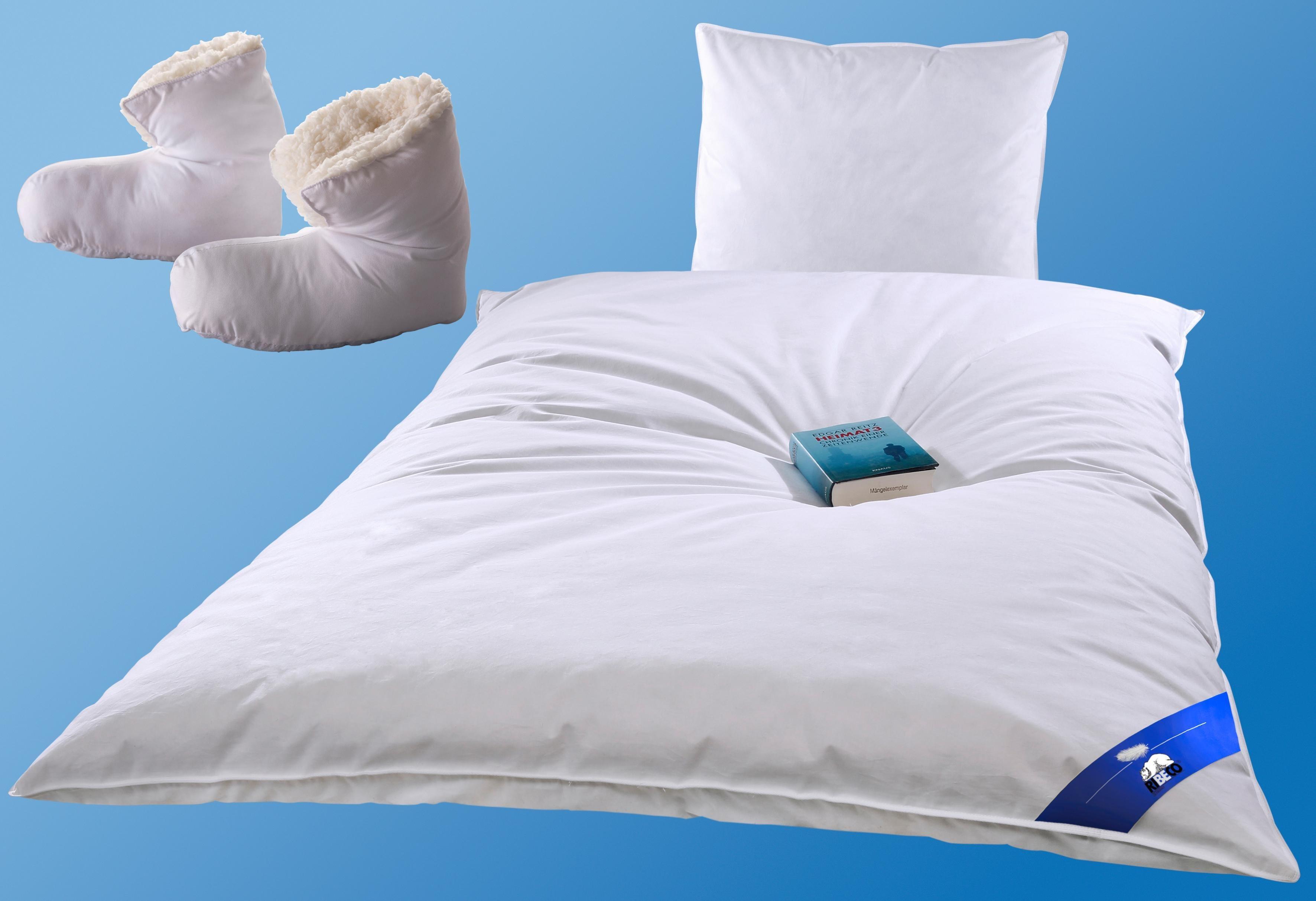 Federbettdecke, »Liam«, RIBECO, extrawarm, Füllung: 100% Federn, (2-tlg) | Heimtextilien > Decken und Kissen > Bettdecken | RIBECO