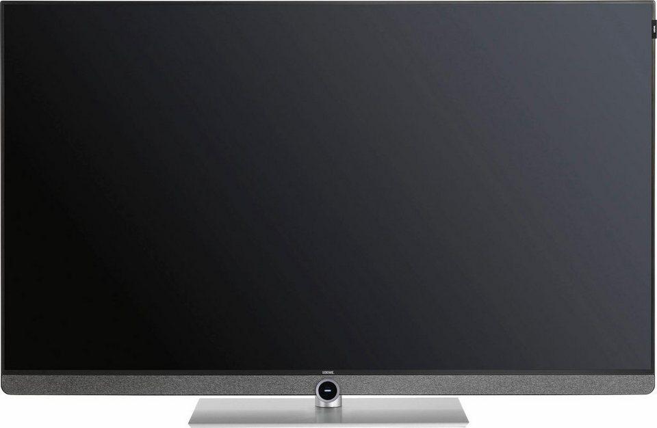 loewe bild led fernseher 140 cm 55 zoll 4k ultra hd smart tv home control interface. Black Bedroom Furniture Sets. Home Design Ideas