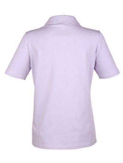 Paola Shirt mit Spitzeneinsatz