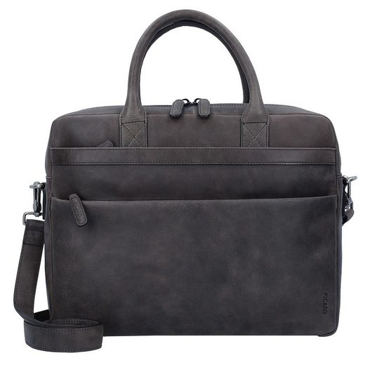 Picard Enzo Briefcase Leather 37 Cm Compartment