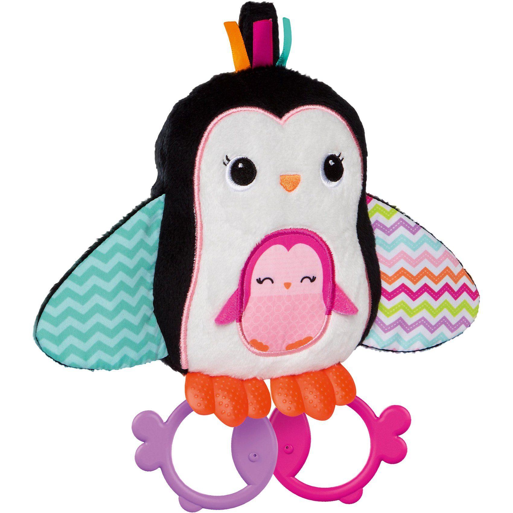 Kids II Knuddel-Pinguin zum Zahnen