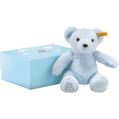 Steiff Teddybär in Geschenkbox, hellblau