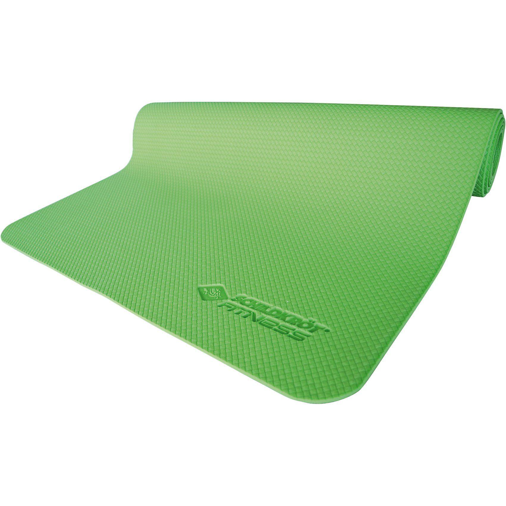 Schildkröt-Fitness Yogamatte 4mm, grün