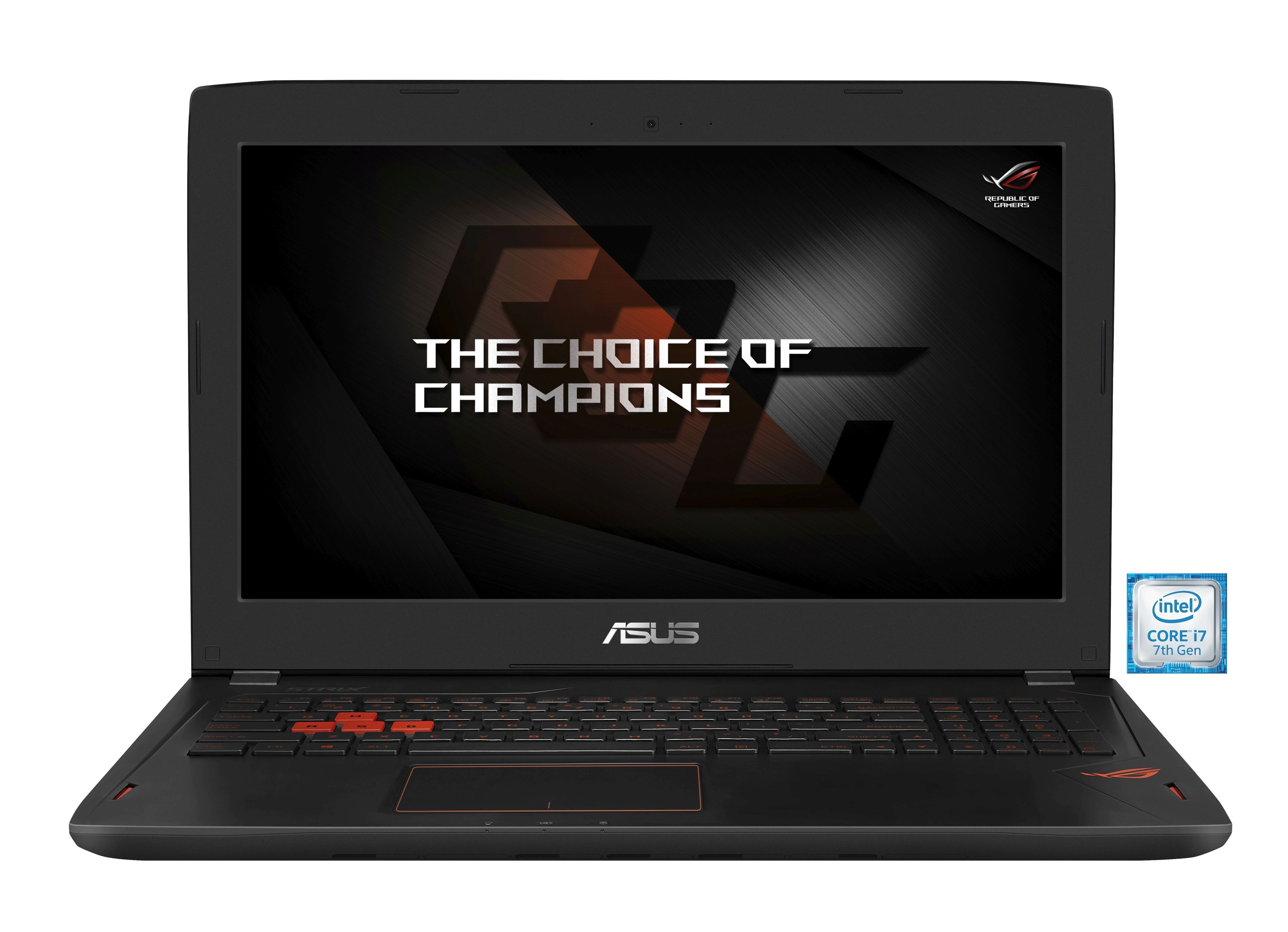 "ASUS ROG GL502VS-GZ223T Gaming Notebook »Intel Core i7, 39,6cm (15,6""), 512 GB + 1 TB, 16GB«"