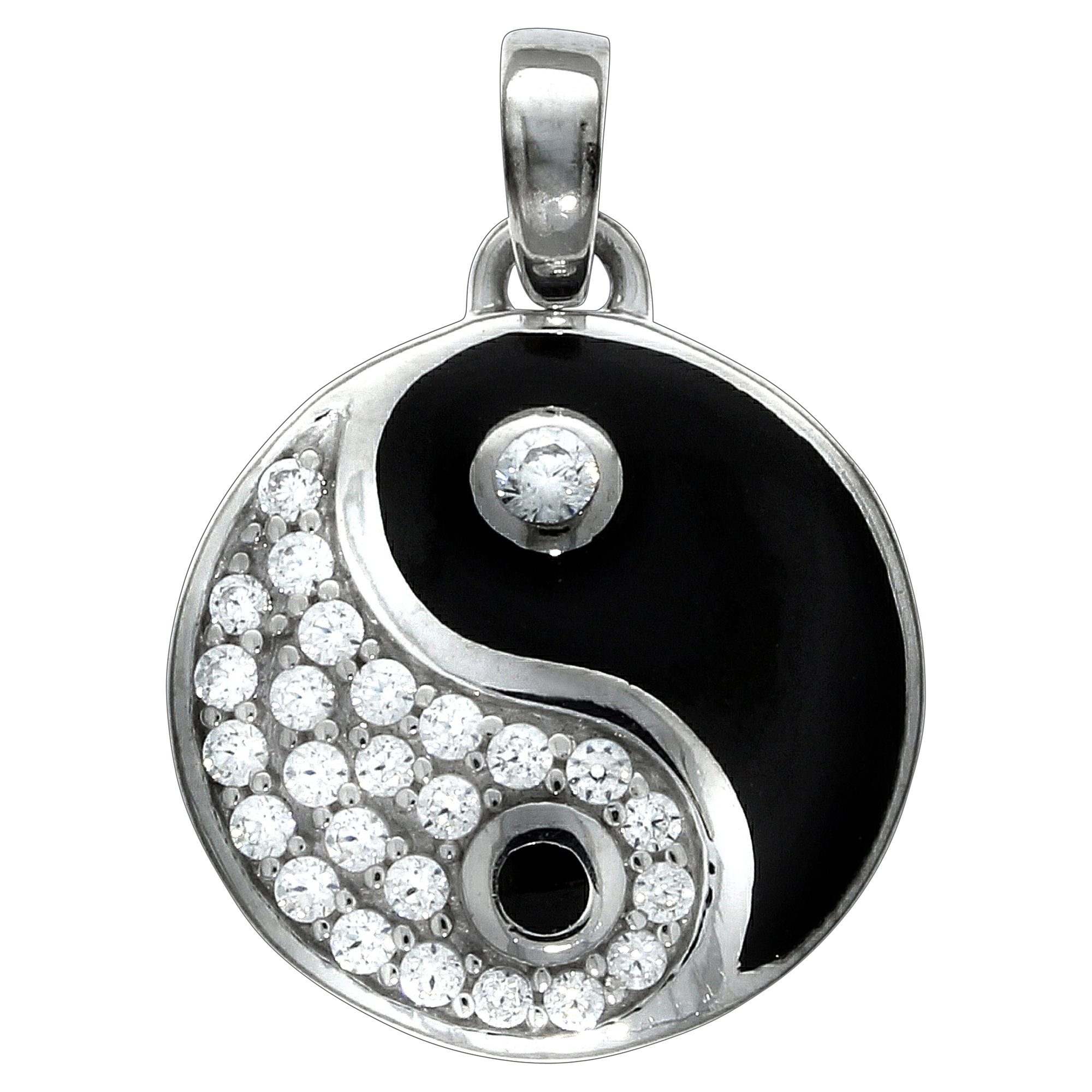 Firetti Anhänger »925/- Sterling Silber Ying Yang«
