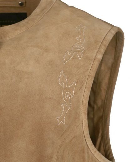 Jcc Leather Vest Tight Fit Ik22