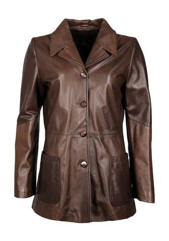 Куртка кожаная »IK55«