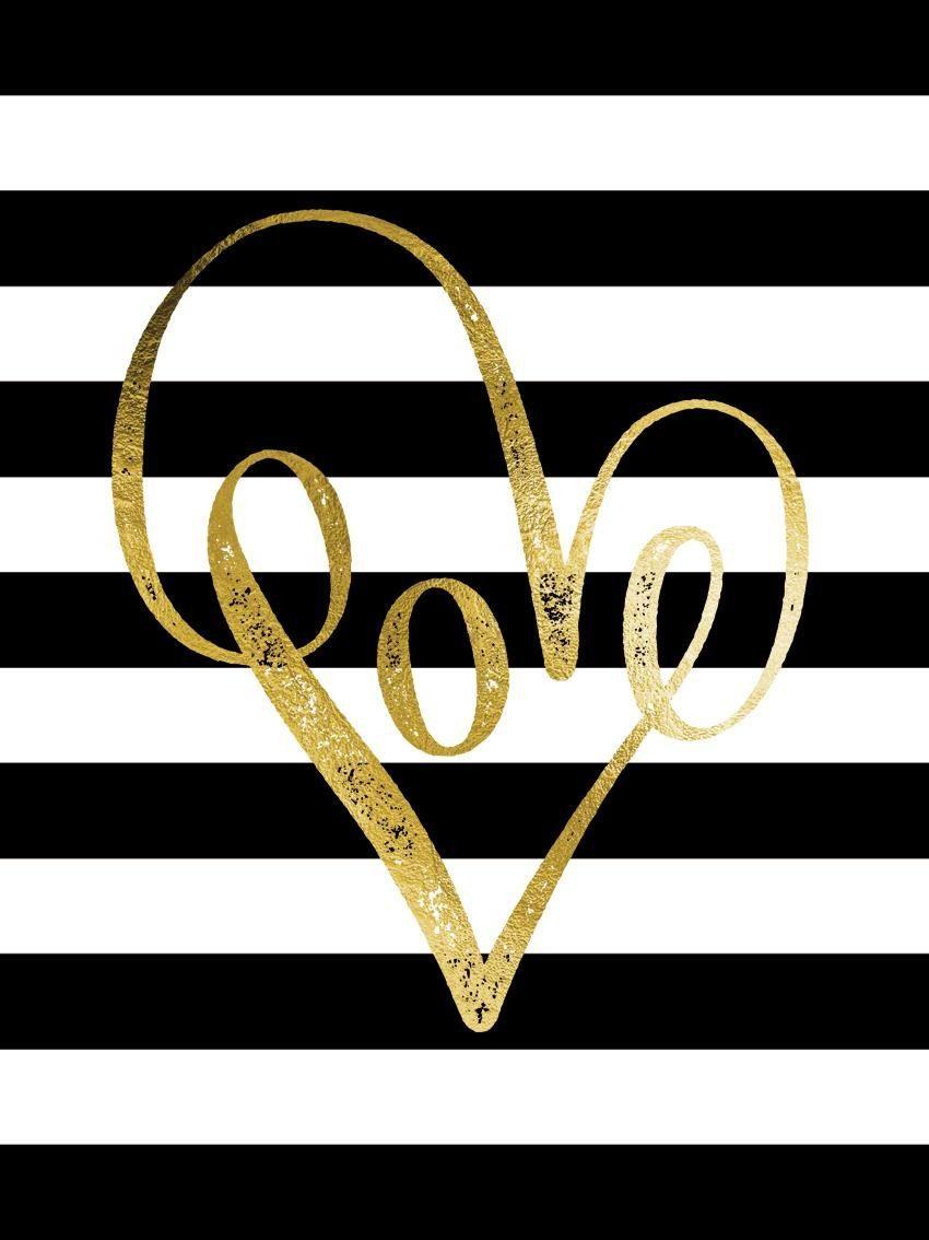 Leinwandbild »Love«, Schriftzug