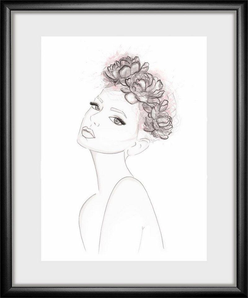 Rahmenbild »Girl« 30/40 cm online kaufen | OTTO