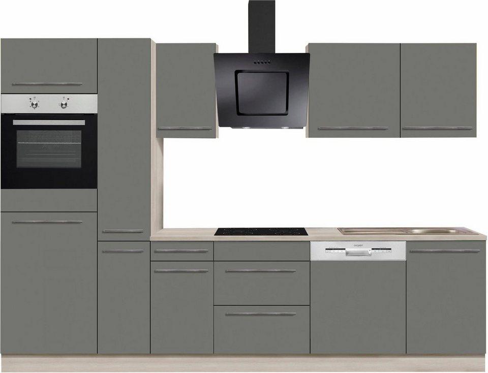 optifit bern k chenzeile mit e ger ten breite 300 cm online kaufen otto. Black Bedroom Furniture Sets. Home Design Ideas