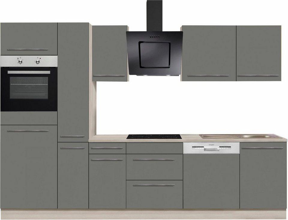 optifit bern k chenzeile ohne e ger te breite 300 cm. Black Bedroom Furniture Sets. Home Design Ideas