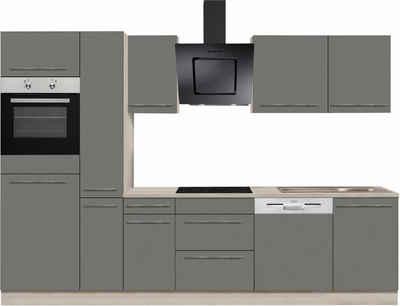 Optifit bern küchenzeile ohne e geräte breite 300 cm