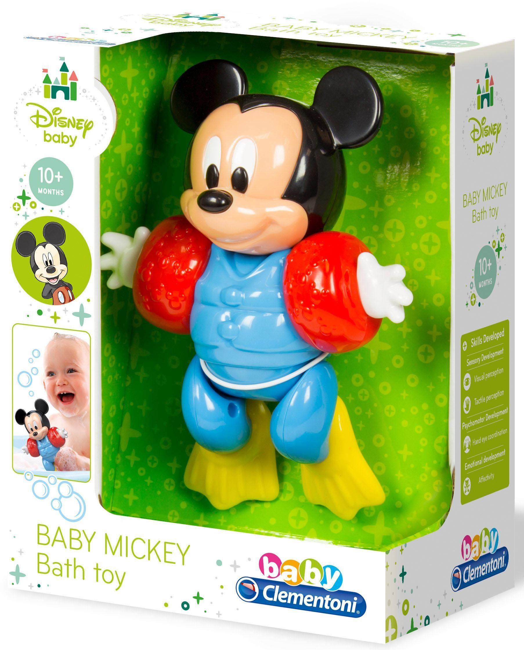 Clementoni Badespielzeug, »Disney Baby, Badender Baby Mickey«