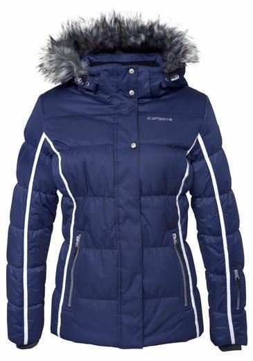 Icepeak Skijacke YASMIN, besonders warm wattiert