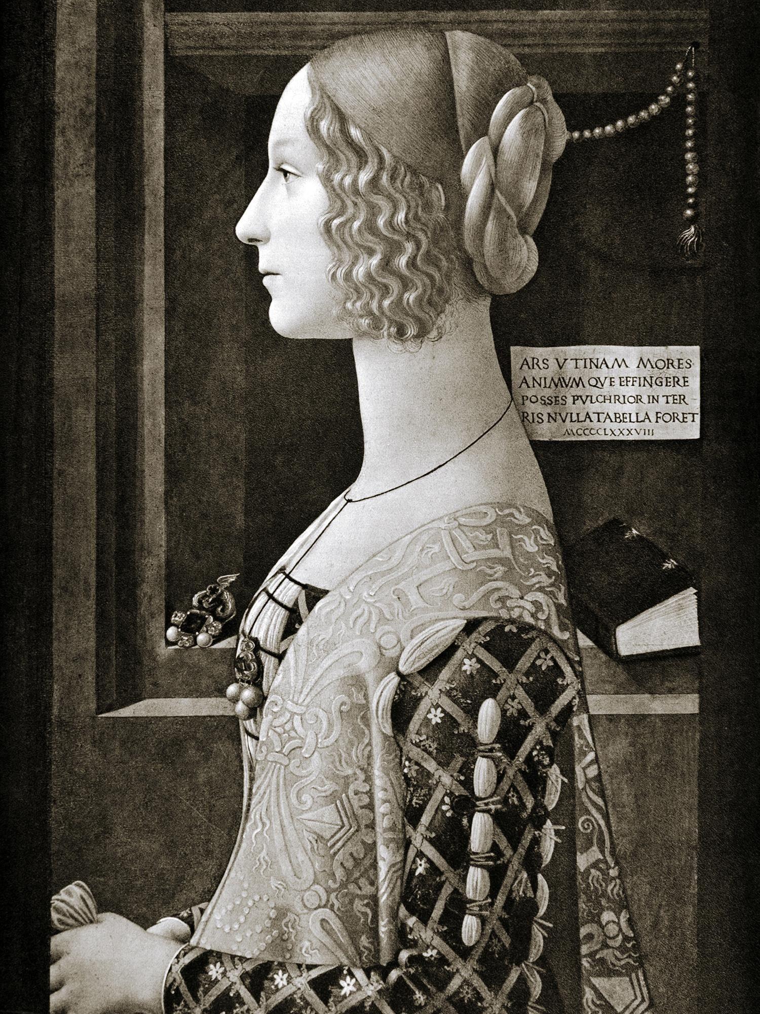 Leinwandbild »Lady 1«, Frau