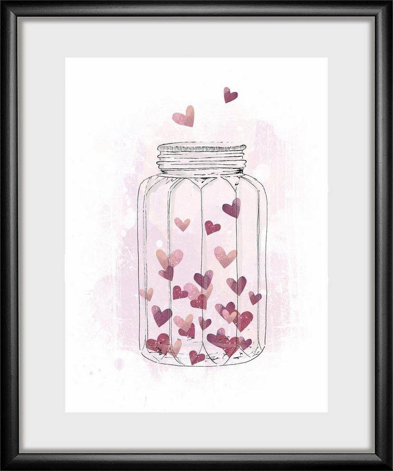Rahmenbild »Heart« 30/40 cm online kaufen | OTTO