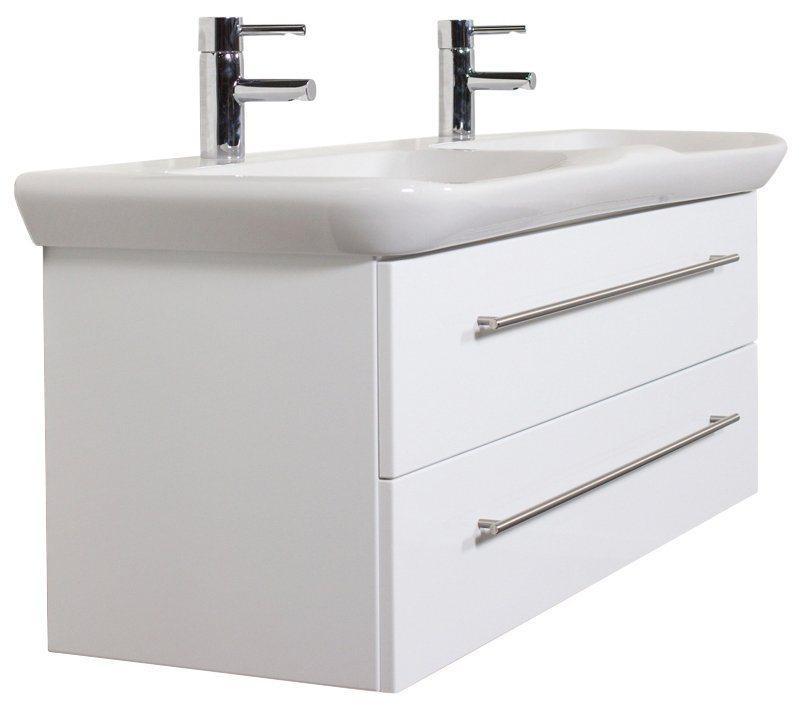 keramag waschtisch myday doppelwaschbecken und doppelwaschtisch breite 130 cm online kaufen. Black Bedroom Furniture Sets. Home Design Ideas