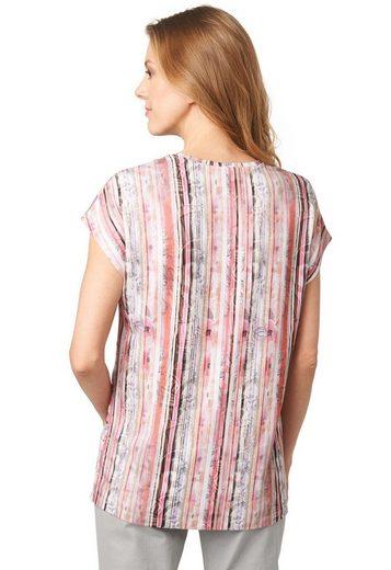 Bonita Shirt mit Satinfront