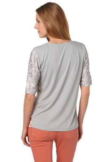 Bonita Bluse mit Blütendruck