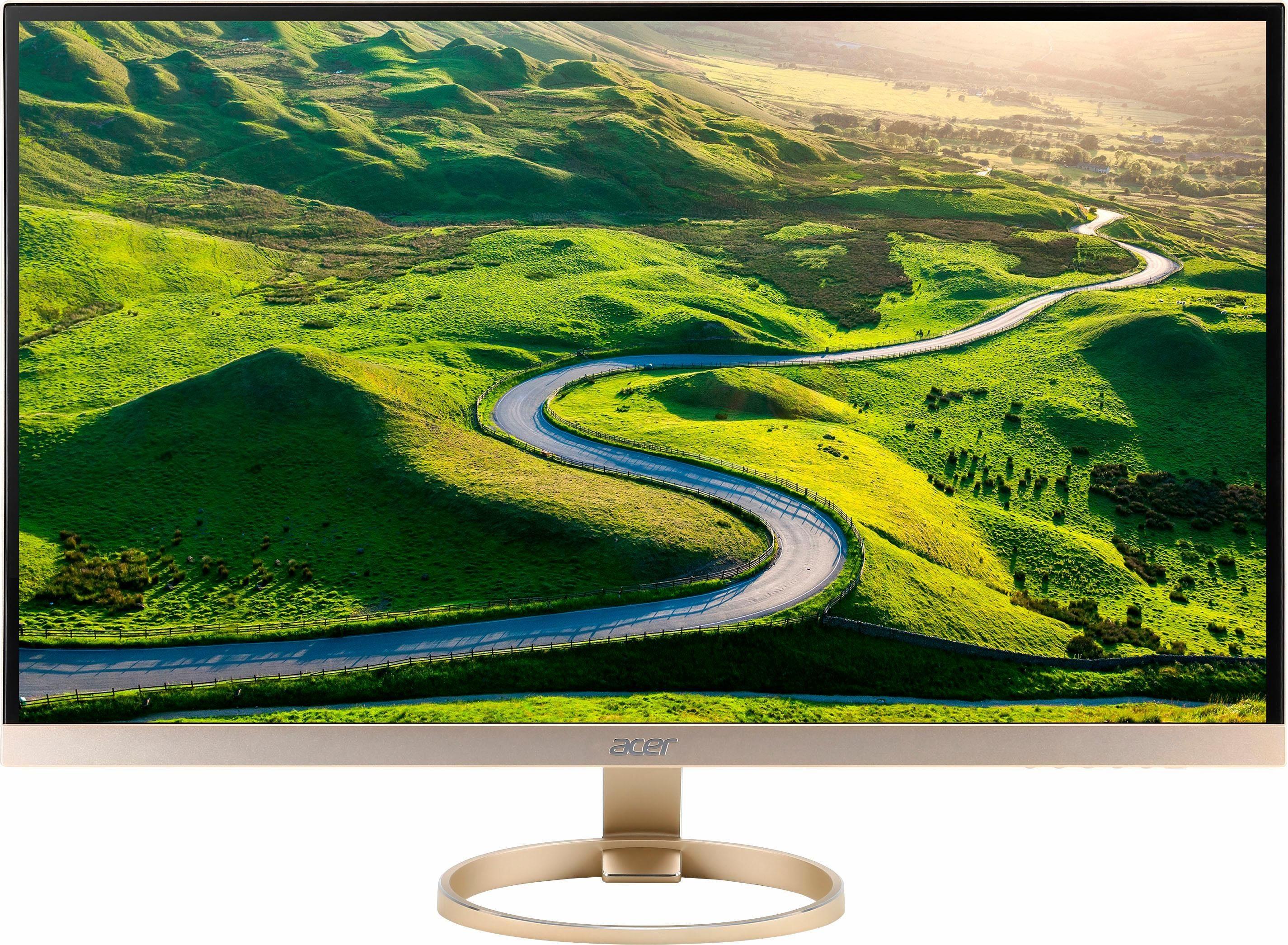 Acer H277HU TFT-Monitor (2560 x 1440 Pixel, WQHD, 4 ms Reaktionszeit, WQHD 2560 x 1440, 16.7 Millionen Farben)