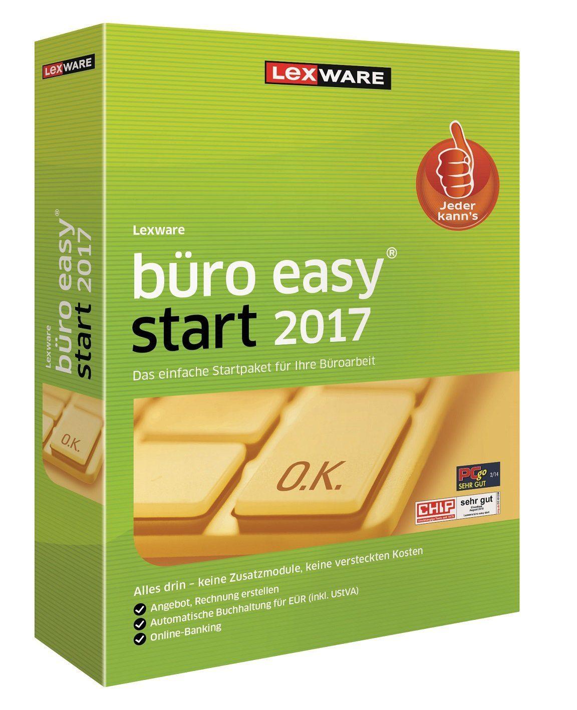 Lexware Kaufmännische Komplettlösung »Büro Easy Start 2017«