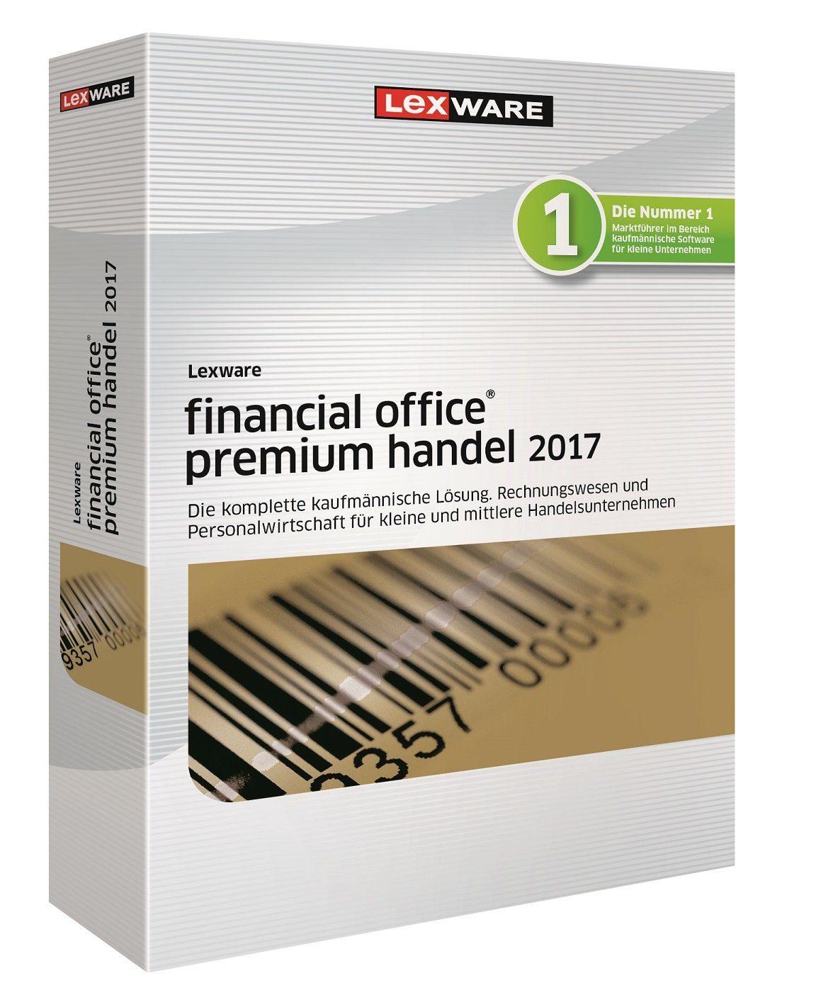 Lexware kaufmännische Komplettlösungen »Financial Office Premium 2017«