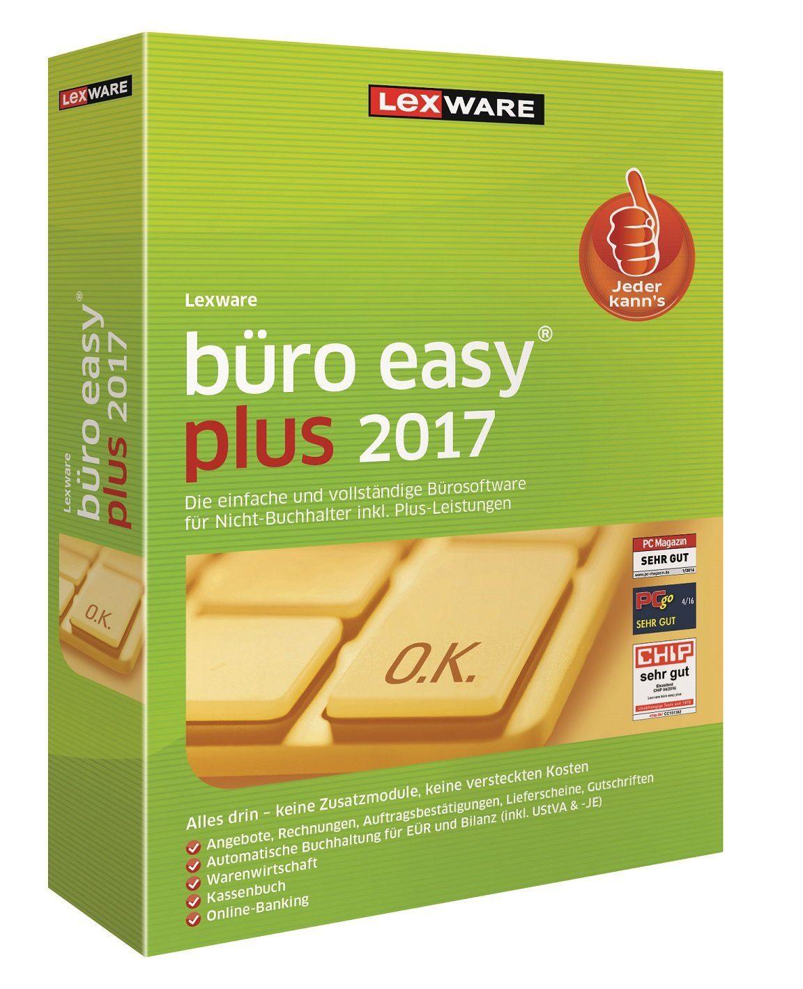 Lexware Kaufmännische Komplettlösung »Büro Easy Plus 2017«