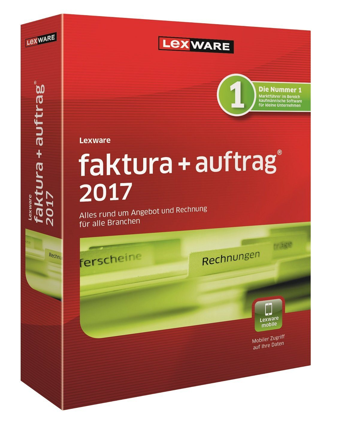 Lexware Kaufmännische Einzellösungen »Faktura+Auftrag 2017«