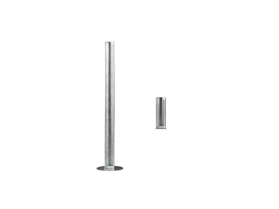 SalesFever Tischleuchte Silber-Finish Touch-Dimmer »Jonah«