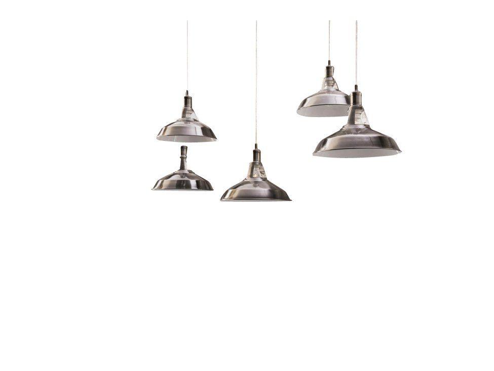 SalesFever Hängeleuchte 5 Lampenschirme Industrial »Felix«