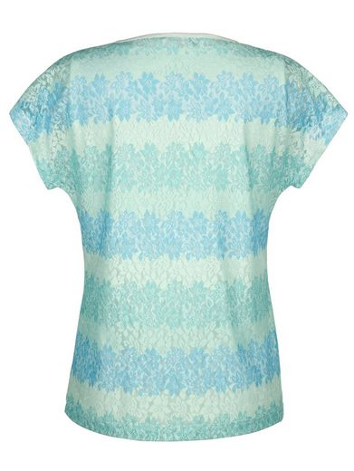 Laura Kent Shirt With Multicolored Lace