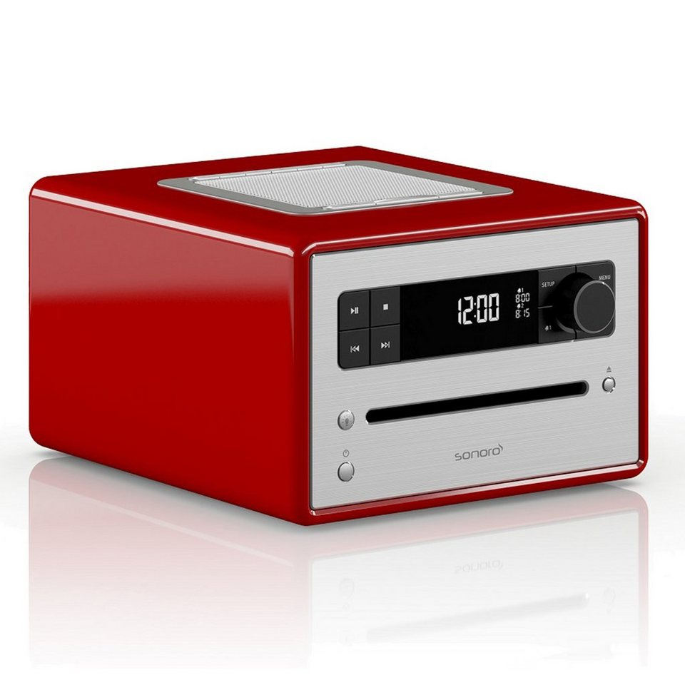 sonoro Digitalradio mit Bluetooth CD Player & MP3