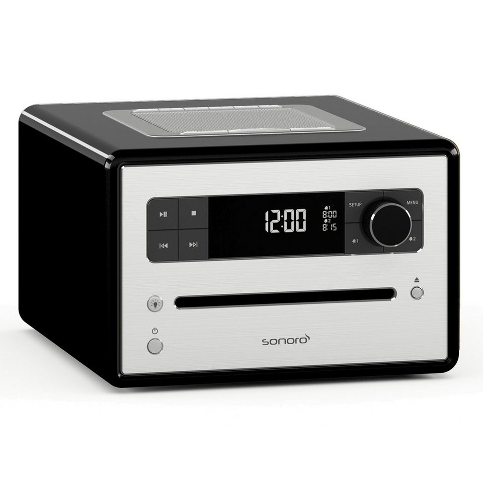 sonoro digitalradio mit bluetooth cd player mp3. Black Bedroom Furniture Sets. Home Design Ideas