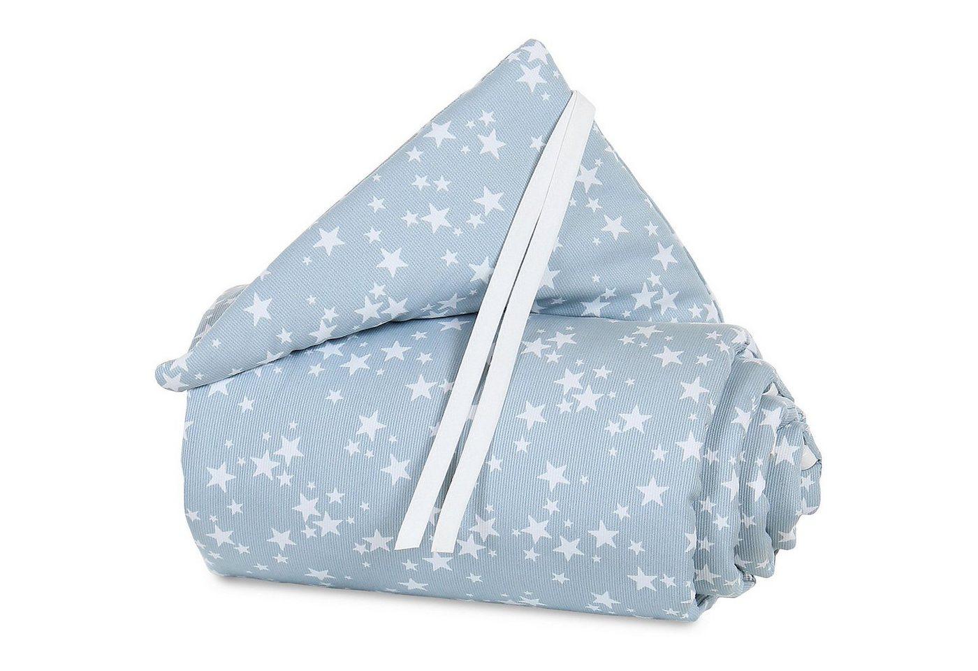 Babymatratzen - Tobi Nestchen pique für babybay original, azurblau Sterne weiß, 1  - Onlineshop OTTO