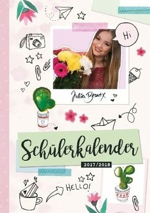 Kalender »Schülerkalender 2017/2018 von JuliaBeautx«