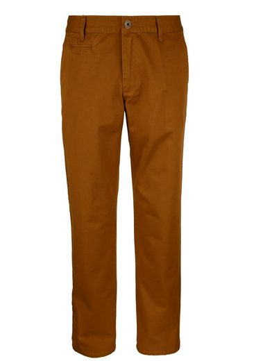 Roger Kent Flat Front Trousers In Cotton-quality